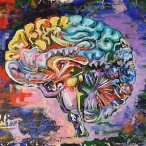 Cerveau multicolore Neffati