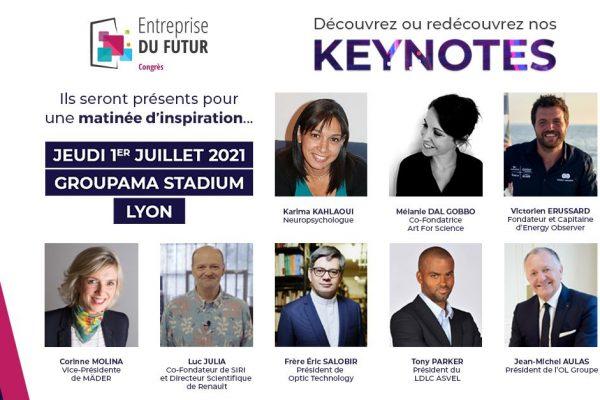 Art For Science face aux 500 dirigeants de France